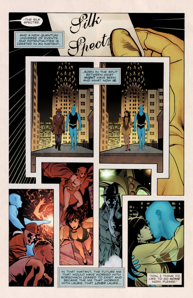 Comic Before Watchmen Dr Manhattan 01