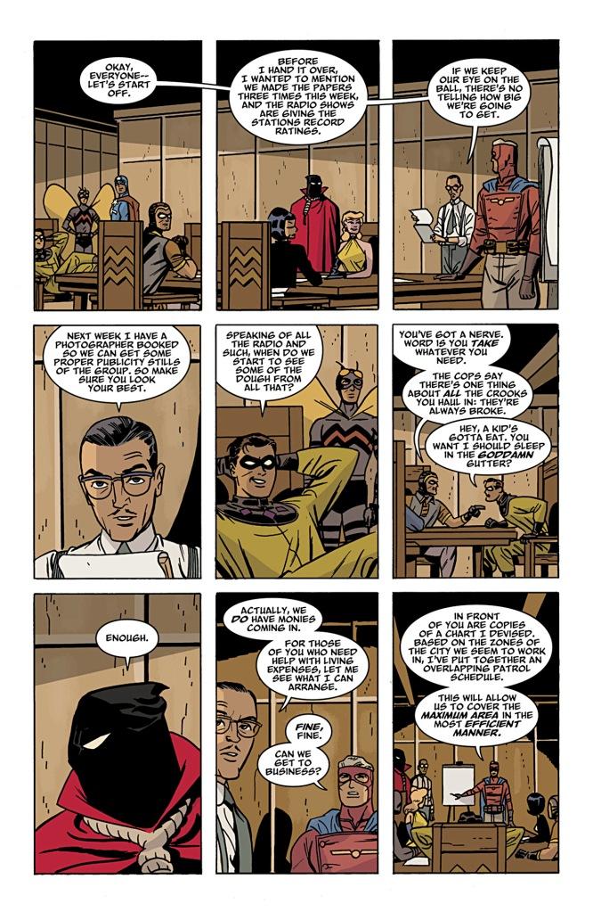 Comic Before Watchmen Minutemen 03
