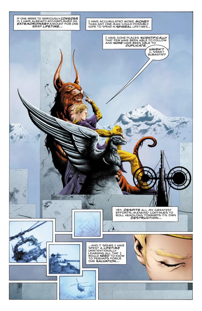 Comic Before Watchmen Ozymandias 01