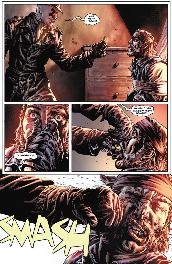 Comic Before Watchmen Rorschach 01